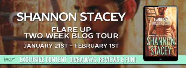 Flare Up blog tour banner