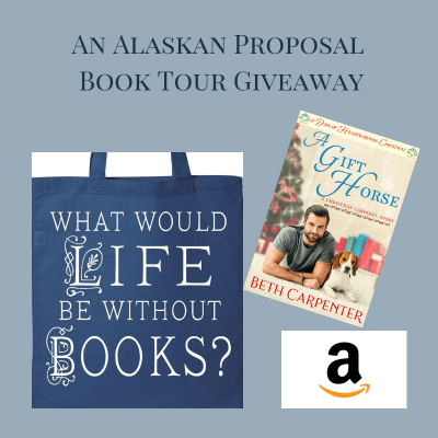 An Alaskan Proposal giveaway graphic