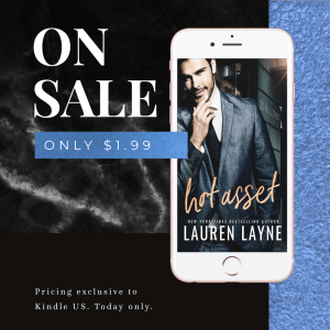 On Sale Only $1.99! HOT ASSET by Lauren Layne