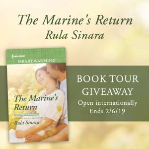 The Marine's Return giveaway graphic
