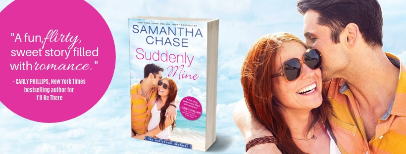 Suddenly Mine by Samantha Chase tour banner