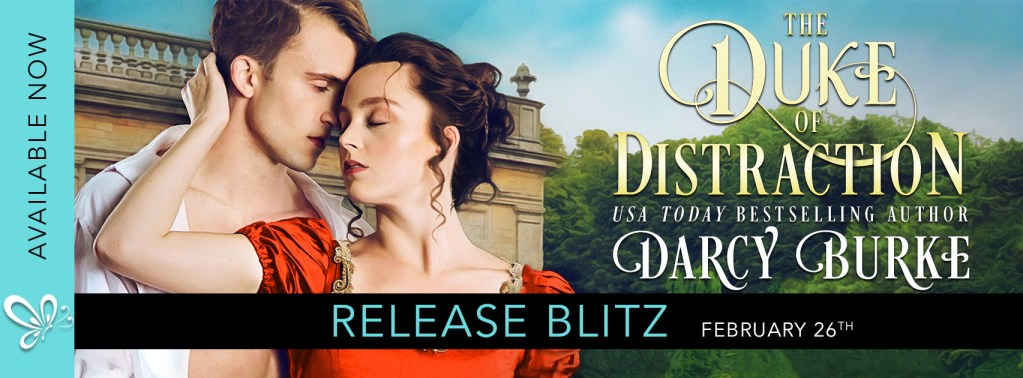 The Duke of Distraction release day banner