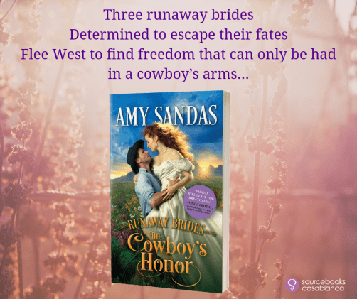 Three runaway brides determined to escape their fates flee west to find freedom that can only be had in a cowboy's arms...  THE COWBOY'S HONOR teaser