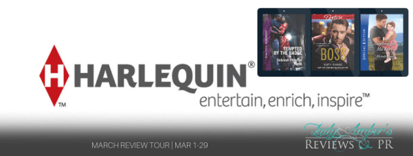 Harlequin March Recommended Reads Review tour banner