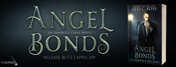 Angel Bonds: An Immortal Curse novel  release day blitz banner