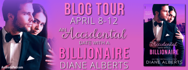 An Accidental Date with a Billionaire blog tour banner