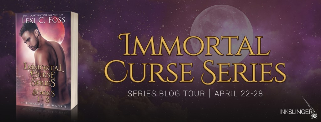 Immortal Curse series tour banner