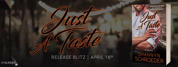 Just a Taste release blitz banner