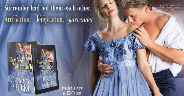 Surrender had led them each other. Attraction. Temptation, Surrender.  One Night of Surrender available now