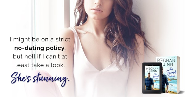 """Teaser: """"I might be on a strict no-dating policy, but hell if I can't at least take a look. She's stunning."""""""