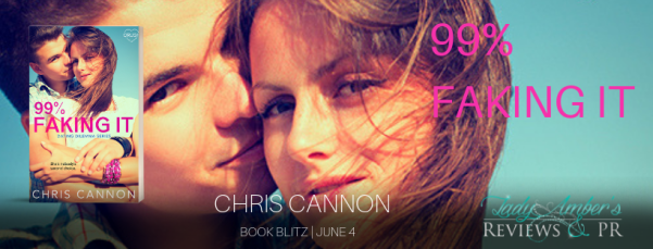 99% Faking It book blitz banner