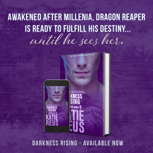 Awakened after millennia, Dragon Reaper is ready to fulfill his destiny...until he sees her. DRAGON RISING by Katie Reus available now