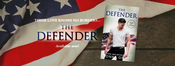 Their love knows no borders...  The Defender  Available now banner