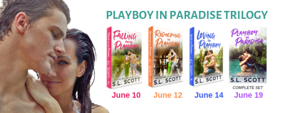 Playboy in Paradise trilogy graphic