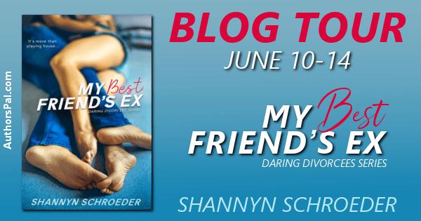 My Best Friend's Ex blog tour banner