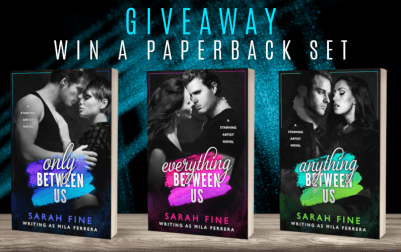 Giveaway graphic win a paperback set