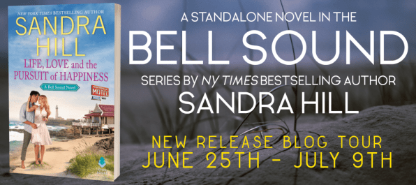 A standalone novel in the Bell Sound series by NY Times bestselling author Sandra Hill New Release Blog Tour banner