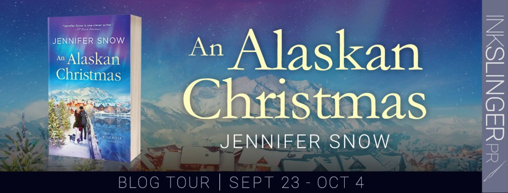 An Alaskan Christmas blog tour banner