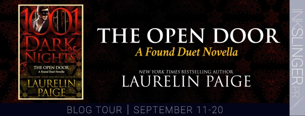 The Open Door  A Found Duet novella blog tour banner