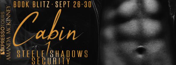Cabin 1: Steele Shadows Security book blitz banner