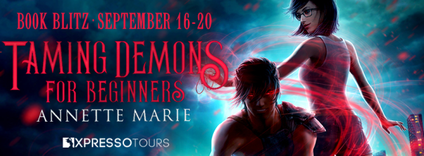 Taming Demons for Beginners blitz banner
