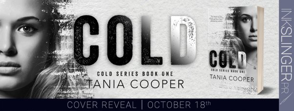 Cold Cold series book one cover reveal banner