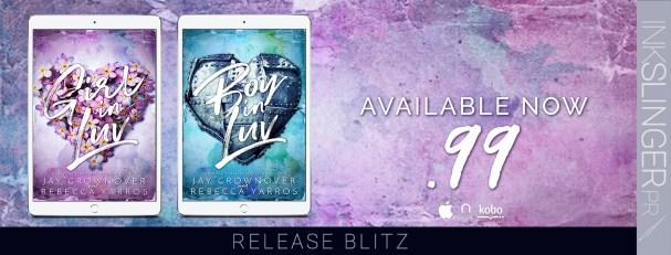 Girl in Liv / Boy in Luv  release blitz banner
