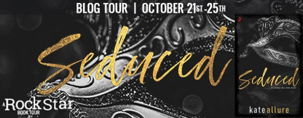 Seduced blog tour banner