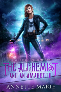 The Alchemist and an Amaretto cover