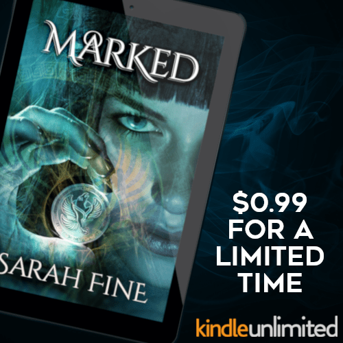 Marked by Sarah Fine $.99 for a limited time KindleUnlimited