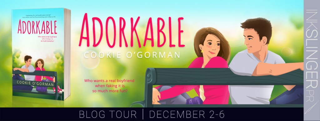 Adorkable blog tour banner