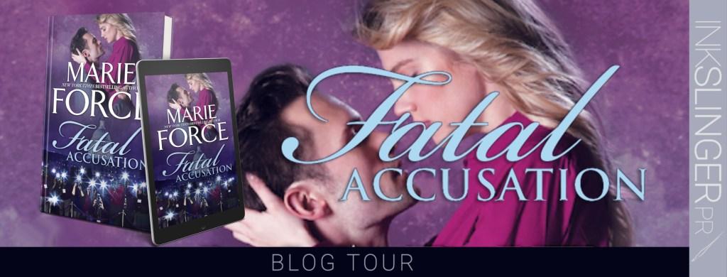 Fatal Accusation blog tour banner