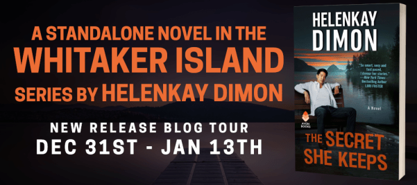 A standalone novel in the Whitaker Island series by HelenKay DImon New release blog tour banner