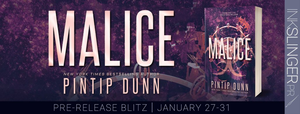 Malice pre-release blitz banner