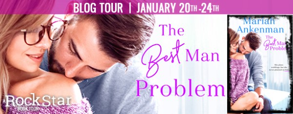 The Best Man Problem blog tour banner