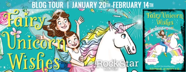 Fairy Unicorn Wishes blog tour banner