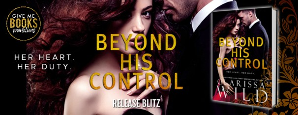 Beyond His Control release blitz banner