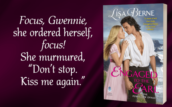 "Focus, Gwennie, she ordered herself, focus! She murmured, ""Don't stop. Kiss me again."""