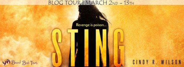 Sting blog tour banner Revenge is poison...