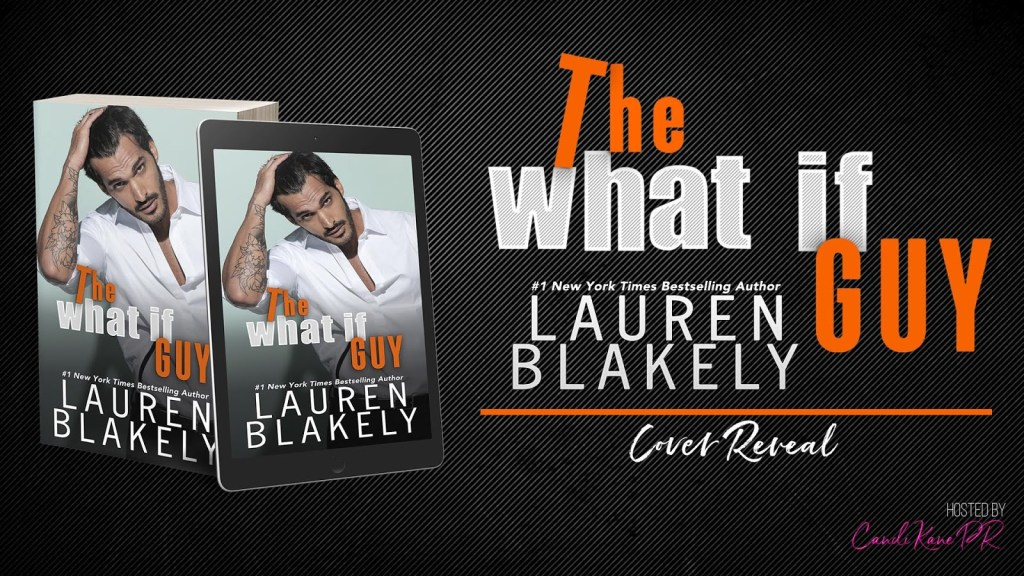 The What If Guy cover reveal banner