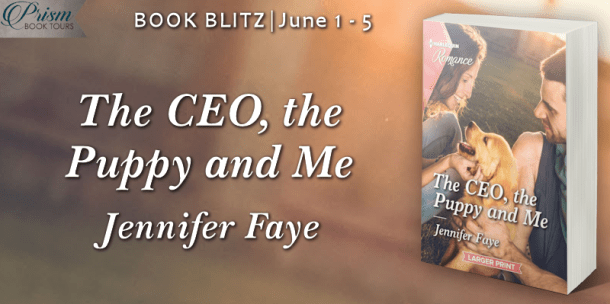 The CEO, the Puppy, and Me book blitz banner