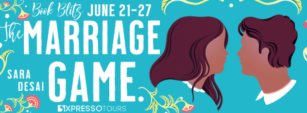 The Marriage Game book blitz banner