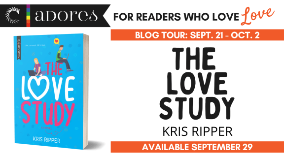 The Love Study blog tour banner  Carina Adores: For readers who love love