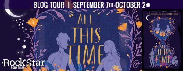 All This Time blog tour banner