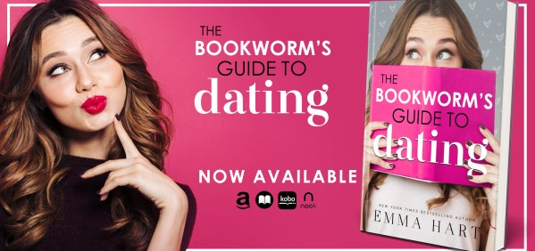 The Bookworm's Guide to Dating new release banner