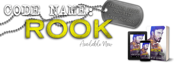 Code Name: Rook available now banner