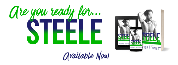 Are you ready for STEELE? available now banner