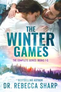 The Winter Games boxset complete series books 1-5 book cover