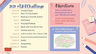 TBR Challenge 2021 graphic
