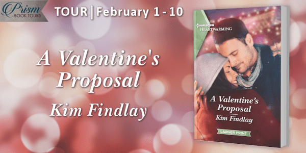 A Valentine's Proposal by Kim Findlay blog tour banner